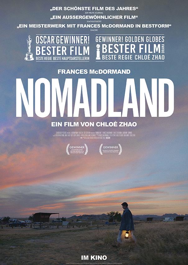 "Filmplakat: ""Nomadland"""